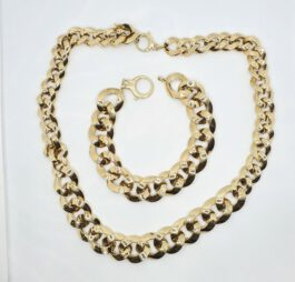שרשרת זהב 14 קראט איטלקי genesis