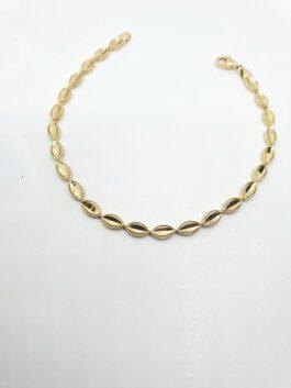 צמיד זהב 14 קראט עדין  הקולקציה החדשה gb108
