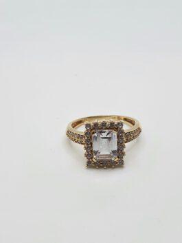 טבעת זהב 14 קראט gr151