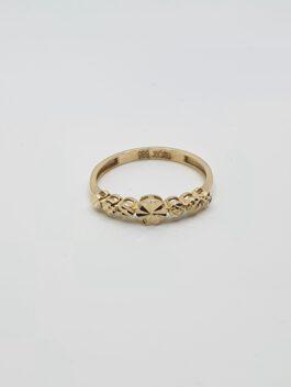 טבעת זהב 14 קראט gr148