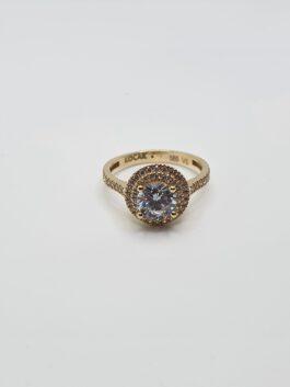 טבעת זהב 14 קראט gr147